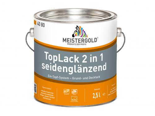 TopLack 2 in 1 seidenglänzend