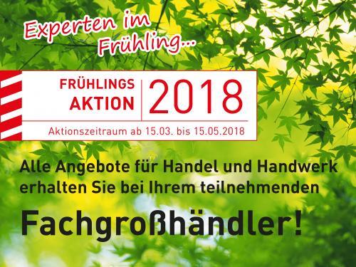 Frühlingsangebot 2018