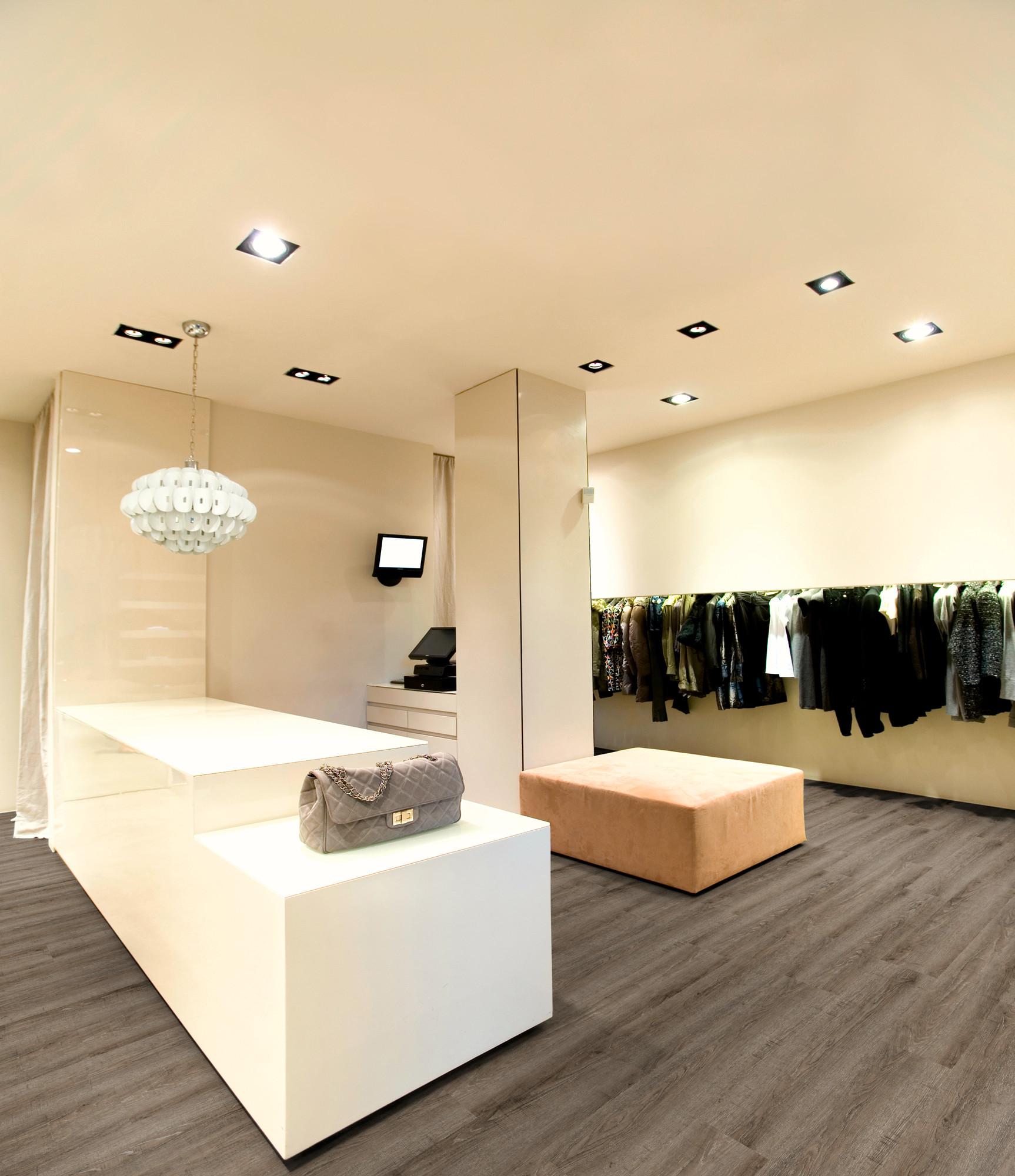 Raumbild - Designboden - Contract 0,55 Planke Click 2