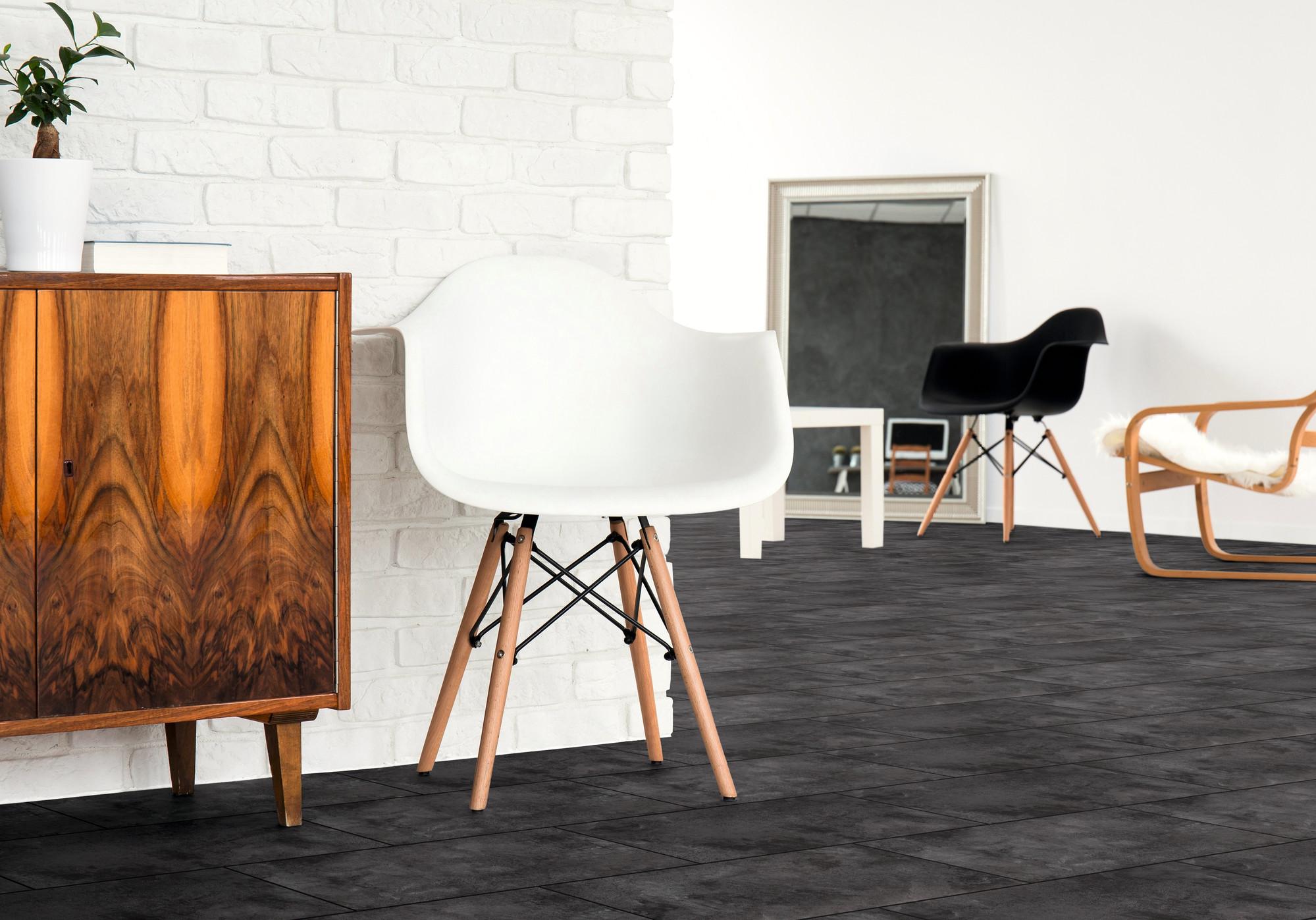 Raumbild - Designboden - Home 0,3 Fliese Click