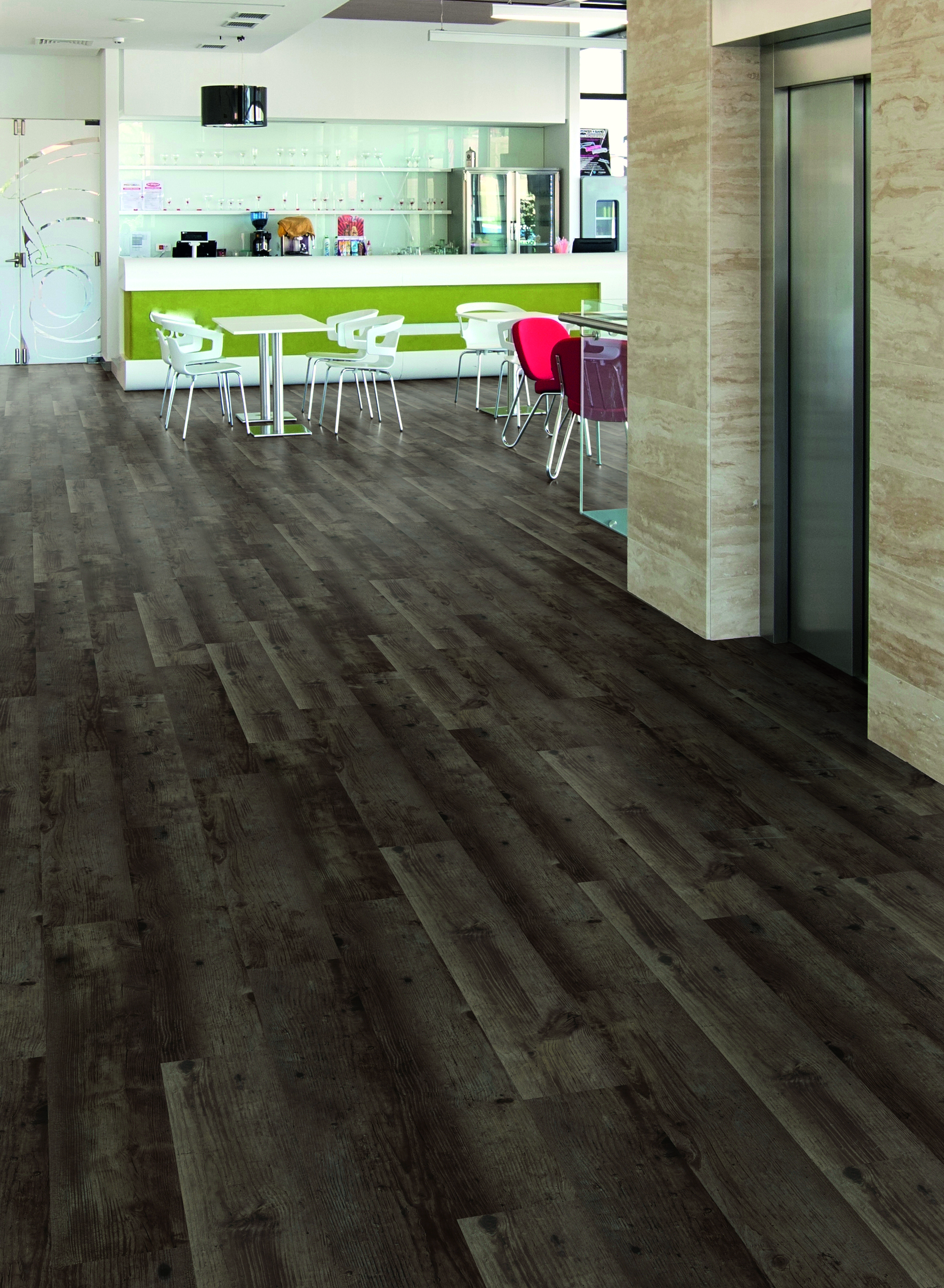 Raumbild - Designboden - Contract 0,55 Planke Click 1